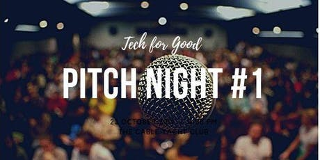 Tech for Good Pitch Night London #1 tickets