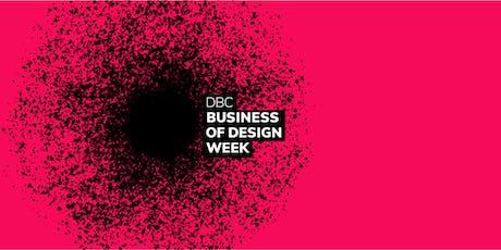 Business of Design Week Masterclass 4 tickets
