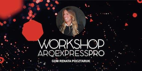 Workshop Gestão na Arquitetura ingressos