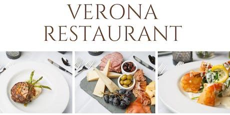 Verona Wine Dinner tickets