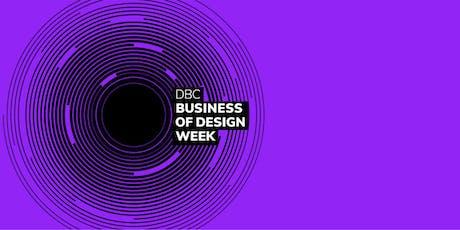 Business of Design Week Masterclass 8 tickets