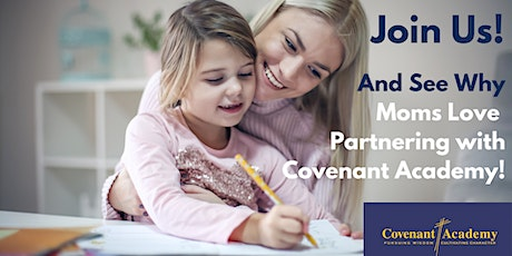 January Covenant Academy Info Session tickets