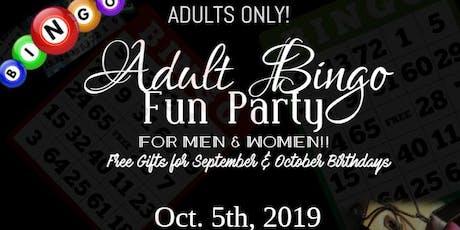 Adult Bingo Fun Party tickets