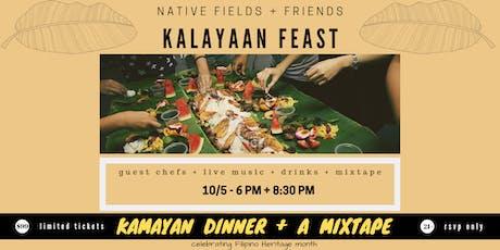 Kalayaan Feast: Kamayan Dinner + a Mixtape tickets