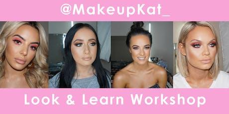 MakeupKat Look & Learn Workshop tickets