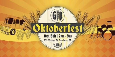 Oktoberfest 2019 at Gordon Biersch Brewery (Japantown, SJ) tickets