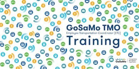 October 2019 Santa Monica Employee Transportation Coordinator (ETC) Training - GoSaMo TMO  tickets