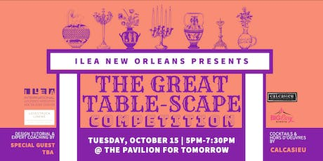 The Great Table-Scape Competition tickets