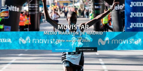 Meia Maratona de Madri - 2020 tickets