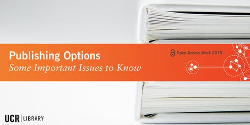 Publishing Options: Some Important Issues to Know