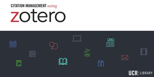 Citation Management Using Zotero