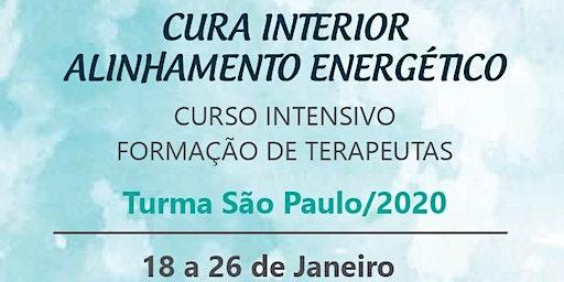 CURSO DE FORMAÇÃO DE TERAPEUTAS DE CURA INTERIOR ALINHAMENTO ENERGÉTICO