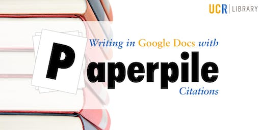 Writing in Google Docs with PaperPile Citations