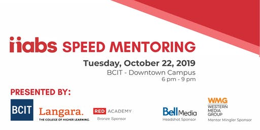 nabs Speed Mentoring 2019 Presented by BCIT and Langara