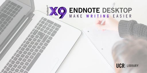 Endnote Desktop - Making Writing Easier
