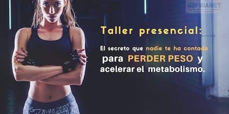 El secreto para PERDER PESO y ACELERAR el METABOLISMO entradas