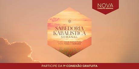 Pacote Sabedoria Kabbalística Semanal | Novembro | SP ingressos