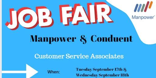 Customer Service Hiring Event