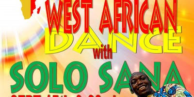 West African Dance with Solo Sana-Reserve Your Spot