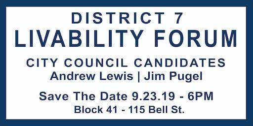 Seattle City Council D7 Candidate Livability Forum