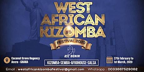 WEST AFRICAN KIZOMBA FESTIVAL  tickets