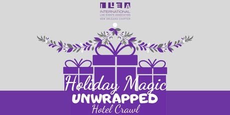 Holiday Magic Unwrapped: Hotel Crawl tickets