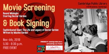 Round Midnight  Movie Screening & book signing tickets