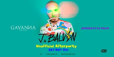 J Balvin After Concert Party @Gavanna by Mythnight
