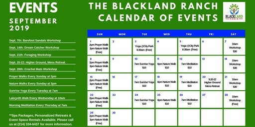 BLACKLAND DIY Fall Workshop Series