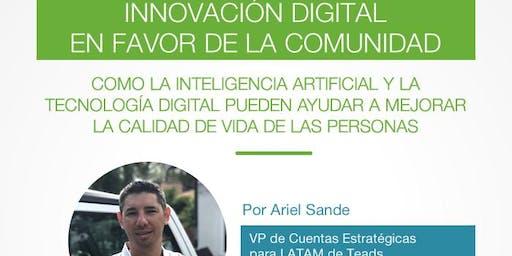 """""""Innovación Digital en favor de la comunidad"""""""