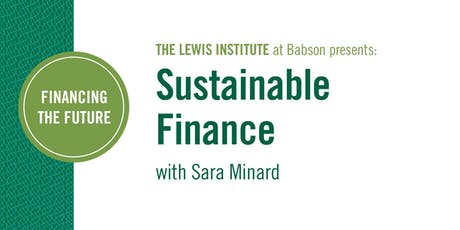 Financing the Future: Sustainable Finance tickets