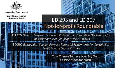 AASB ED 295 & ED 297: Not-for-profit Roundtable, Perth tickets