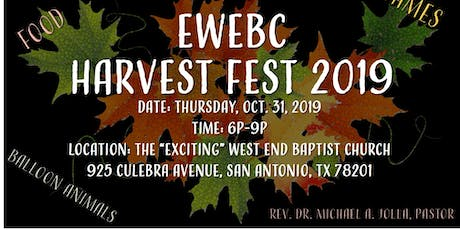 Harvest Fest 2019 tickets