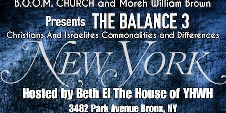 The Balance 3 New York tickets
