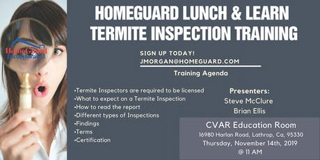 HomeGuard Termite Inspection Training  tickets