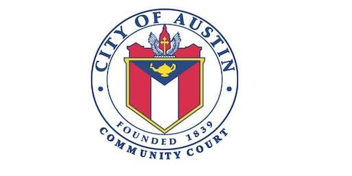 Downtown Austin Community Court      20th Anniversary Celebration