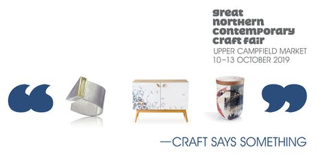 Great Northern Contemporary Craft Fair Manchester tickets