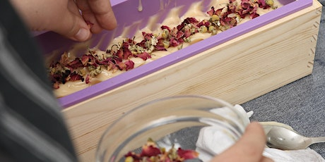 Learn Cold Process Soap Making with Natural Ingredients tickets