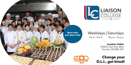 Info Session for International Students Interested in Culinary Arts tickets