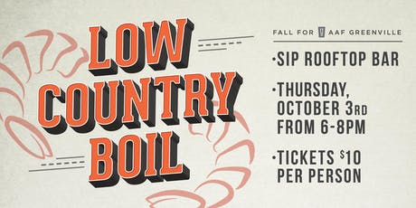 Low Country Boil - AAF Greenville Kick-Off Event tickets
