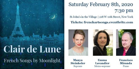CLAIR DE LUNE - French Songs by Moonlight tickets