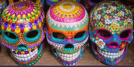Dia De Los Muertos Sugar Skull Paint Party tickets