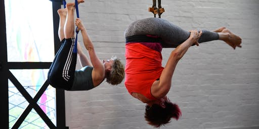 Wednesday pm Intro to Aerial Yoga Taster & Workshop