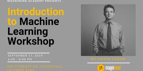 Introduction to Machine Learning Workshop tickets