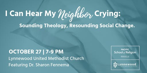 I Can Hear My Neighbor Crying: Sounding Theology, Resounding Social Change
