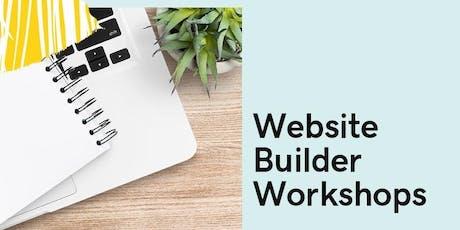 Free Website Builder Workshop tickets