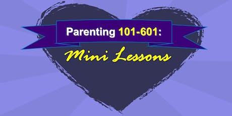 Parenting 401: Building Up Your Child's Self Esteem (ages 6+) tickets