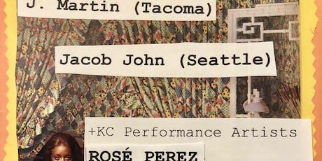J. MARTIN, JACOB JOHN, Rosé Perez, UNICORNS IN THE SNOW tickets