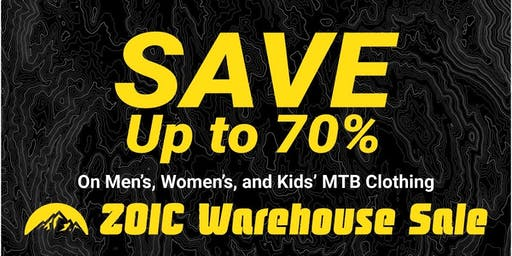 ZOIC Clothing Warehouse Sale