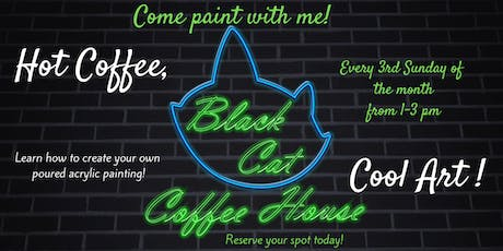 Come Paint With Me at Black Cat Coffee! tickets